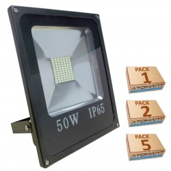 Proyector LED SMD 50W 6500K IP65 Negro 2