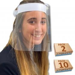 Pantalla Protección Facial. HOMOLOGADA 2