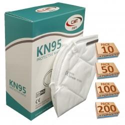 Mascarilla de Protección Individual KN95/FFP2 de 5 Capas 1