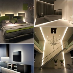 Tira LED Strip 5 metros Directa 220v Impermeable 60W 120 LED 4800LM 12