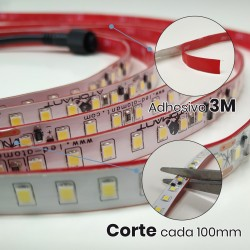 Tira LED Strip 5 metros Directa 220v Impermeable 60W 120 LED 4800LM 10