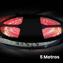 Tira LED Strip 5 metros Directa 220v Impermeable 60W 120 LED 4800LM 7