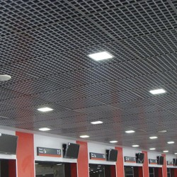 1198 - LED PANEL RECESSED SQUARE SILVER 18W - 08