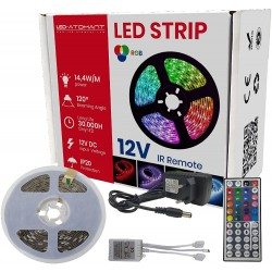 1708 - LED STRIP 12V IR REMOTE - 01