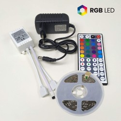 1708 - LED STRIP 12V IR REMOTE  CRI