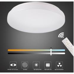 Plafón LED 24W mando Intensidad y color Regulable 2