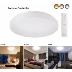Plafón LED 24W mando Intensidad y color Regulable 4