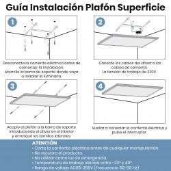 1773 - PANEL SUPERFICIE 120x30 - INSTALACION