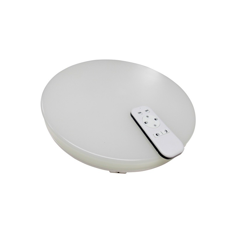 Plafón LED 24W mando Intensidad y color Regulable 1