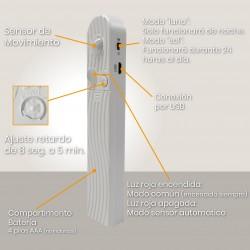 1567 - TIRA LED CON SENSOR 04