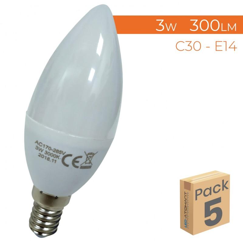 1588 - LED VELA PACK5