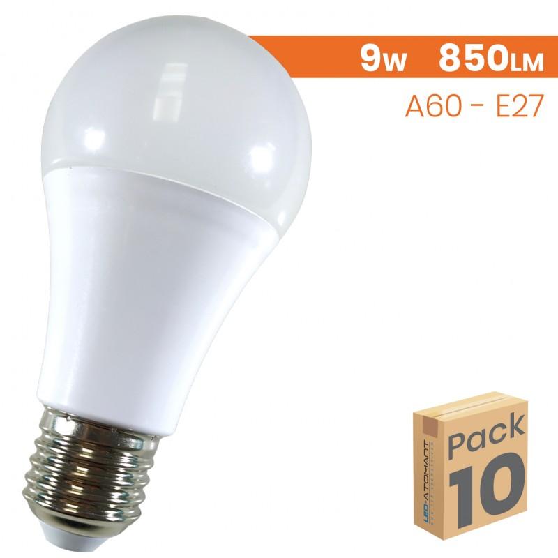 1589 - A60 SENSOR 9W - PACK10