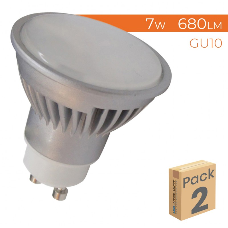 998 - GU10 7W DIMMABLE - PACK2
