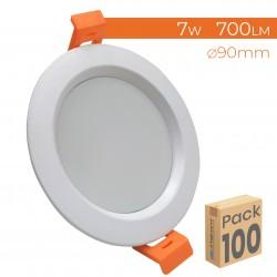 1744 - DOWNLIGHT 7W - PACK100