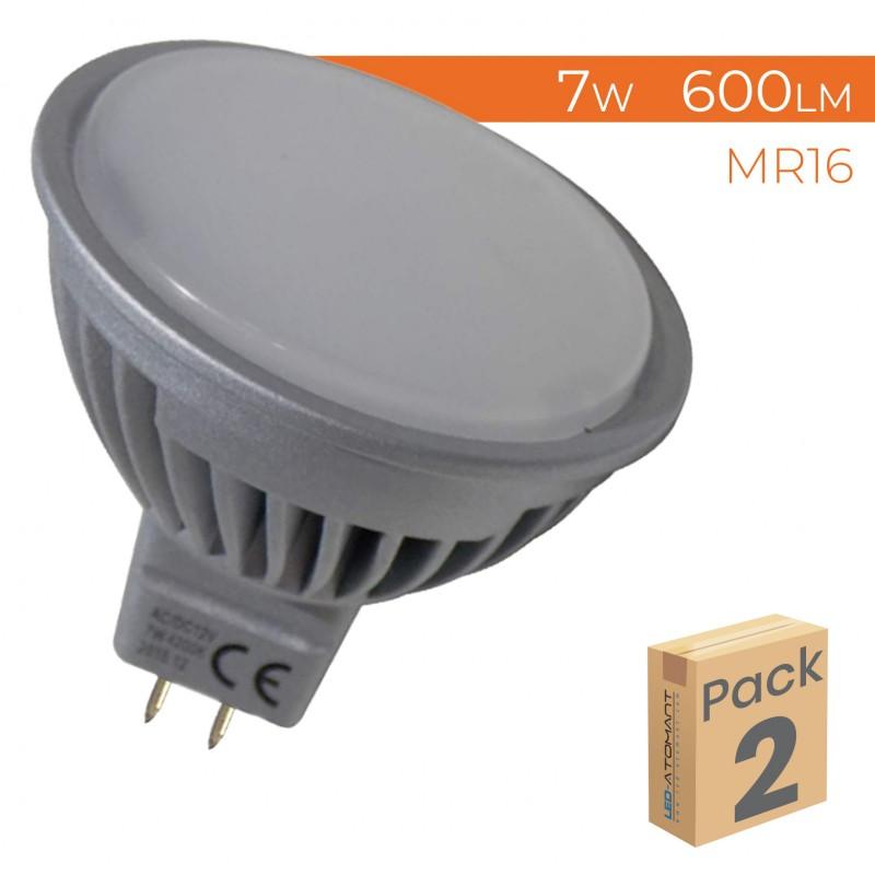 1093 - MR16 7W - PACK2