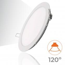 462 - LED PANEL RECESSED ROUND 12W - 04