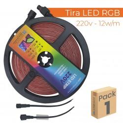1752R - LED STRIP 220V RGB - PACK01