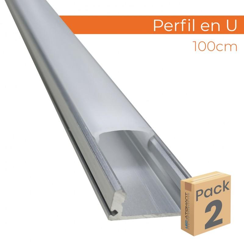441 - PERFIL EN U - PACK2